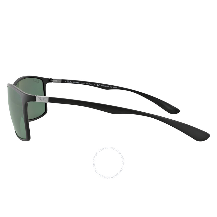 49a013a7b0 ... Ray-Ban 62mm Liteforce Tech Sunglasses - Black Polarized Green Classic  G-15