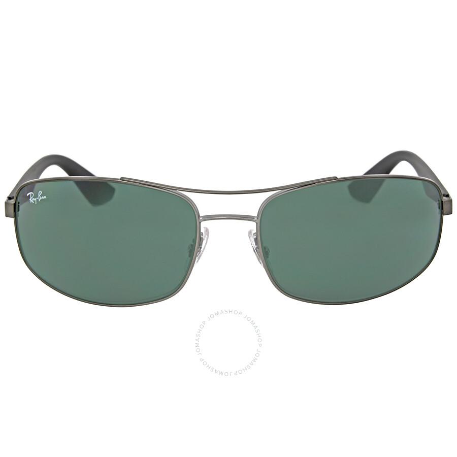 e5b5ab7a03 Ray-Ban Active Gunmetal Green Classic Sunglasses RB3527 029 71 61 ...