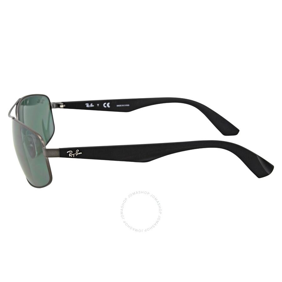 52e8099144 ... Ray-Ban Active Gunmetal Green Classic Sunglasses RB3527 029 71 61 ...
