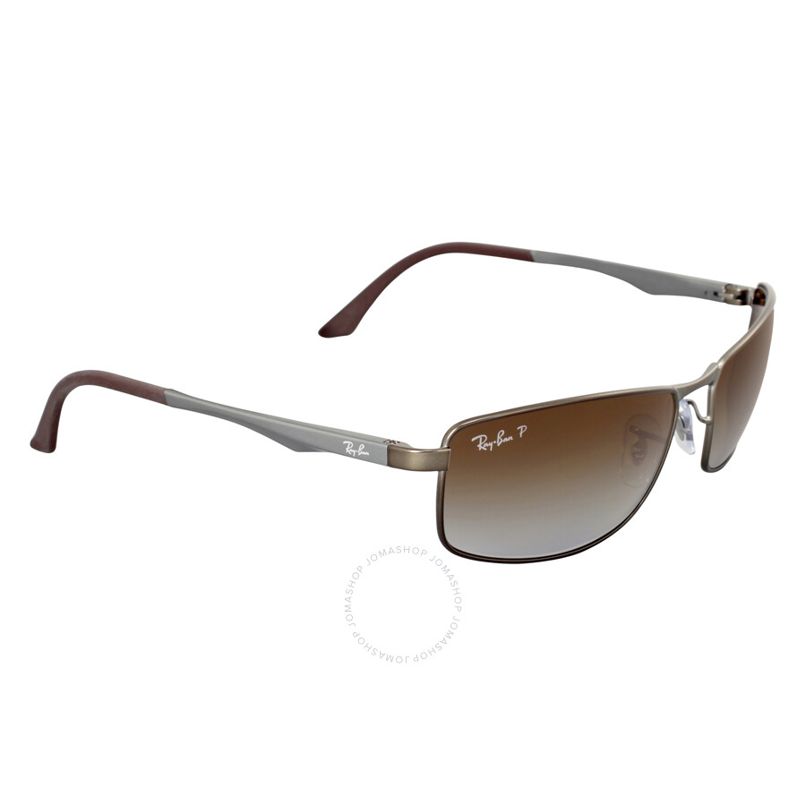 f572d984f1 ... Ray-Ban Active Polarized Brown Gradient Sunglasses RB3498 029 T5 61 ...