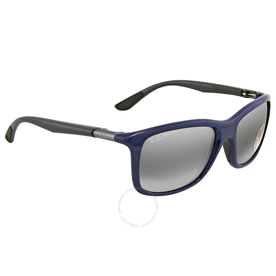 Ray ban active polarized silver mirror sunglasses ray for Mirror sunglasses