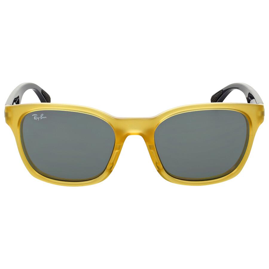 Ray ban active yellow grey mirror sunglasses ray ban for Mirror sunglasses
