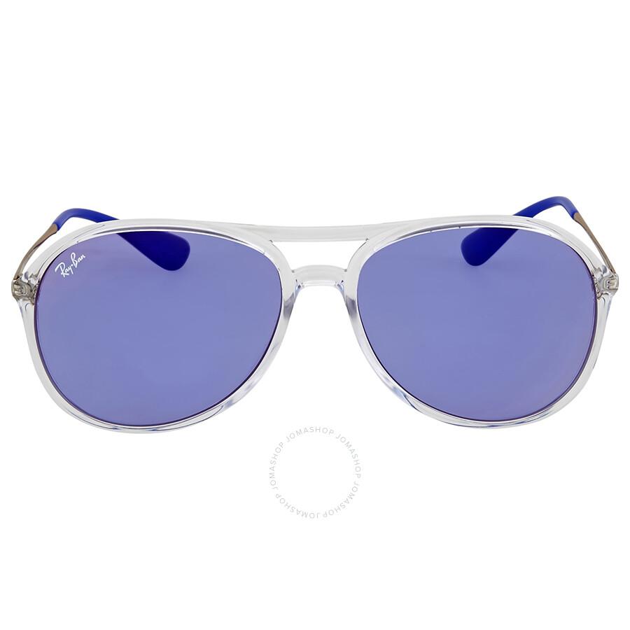 cd234c9219 Ray-Ban Alex Dark Violet Classic Sunglasses - Ray-Ban - Sunglasses ...