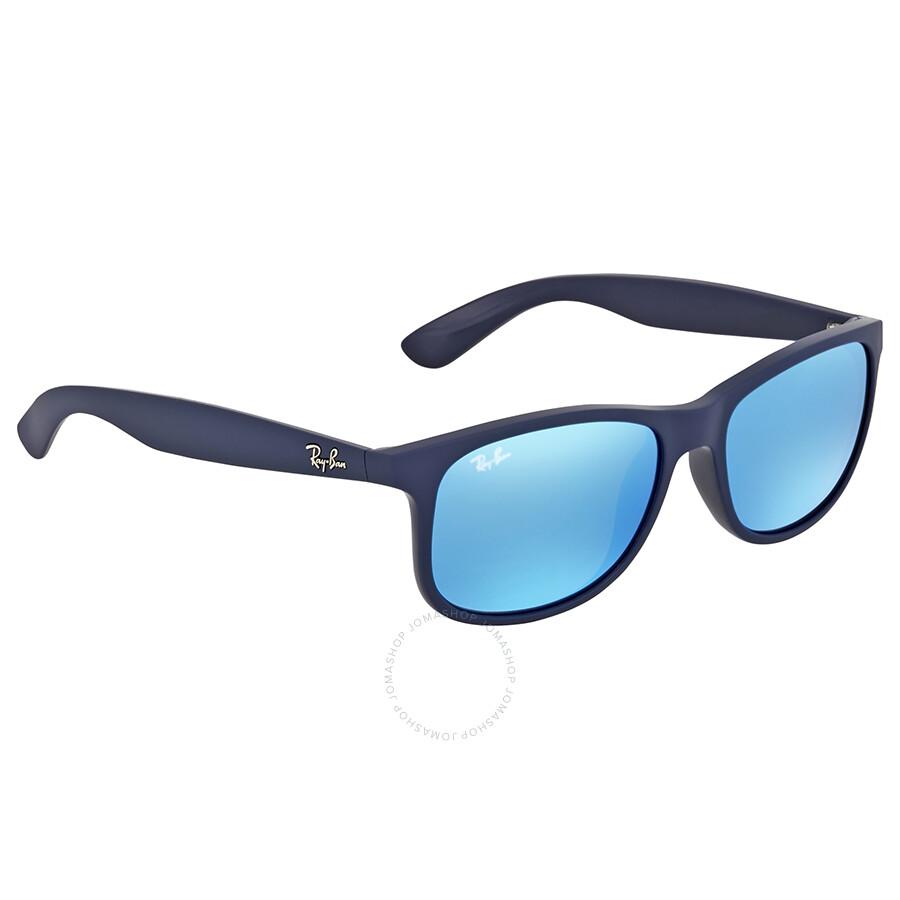 6c7254b1743 Ray Ban Andy Blue Mirror Sunglasses Ray Ban Andy Blue Mirror Sunglasses ...