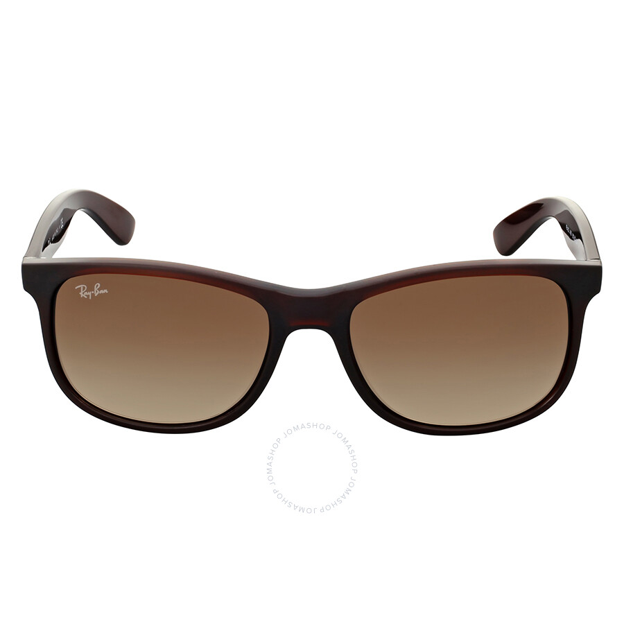 5efd51e94bd Ray-Ban Andy Brown Gradient Sunglasses - Andy - Ray-Ban - Sunglasses ...