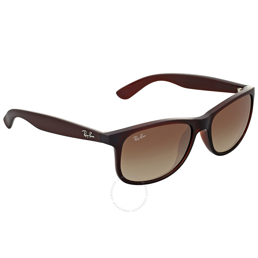 61aa733549 Ray-Ban Andy Brown Gradient Sunglasses - Andy - Ray-Ban - Sunglasses ...