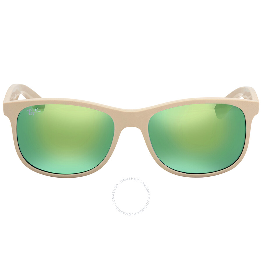 af87f24e889d3 Ray Ban Andy Green Mirror Sunglasses RB4202 61543R 55 - Andy - Ray ...
