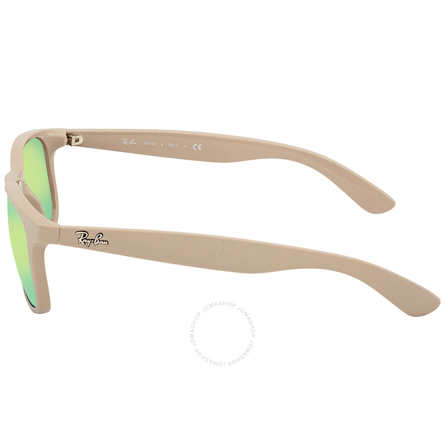 bc7b3d264bb Ray Ban Andy Green Mirror Sunglasses RB4202 61543R 55 - Andy - Ray ...