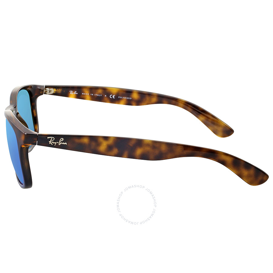 c5d5a9facf Ray-ban Andy Polarized Blue Flash Sunglasses - Andy - Ray-Ban ...