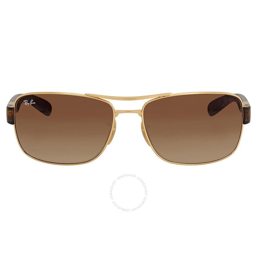 1ef9ca59aaa Ray Ban Arista Brown Gradient Men s Sunglasses RB3522 001 13 64 ...