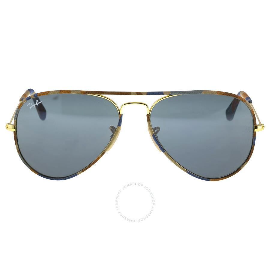 6b2a51f02c Ray-Ban Aviator 55mm Camouflage Fabric Grey Lens Men  39 s Sunglasses 3025JM