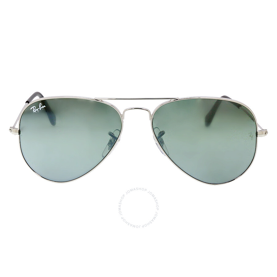 ray ban aviator 55  Ray-Ban Aviator 55mm Classic Sunglasses - Silver Mirror RB3025 ...