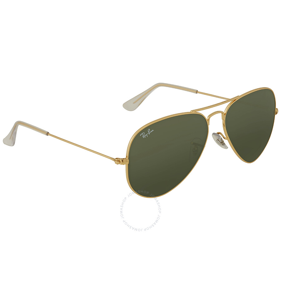 84d1adb5379 ... Ray Ban Aviator 58mm Classic Green Sunglasses RB3025 L0205 58-14 ...