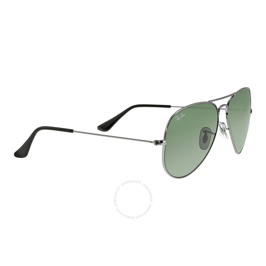 3b6d31ee47 ... Ray-Ban Aviator 58mm Classic Sunglasses - Gunmetal With Green G-15 ...