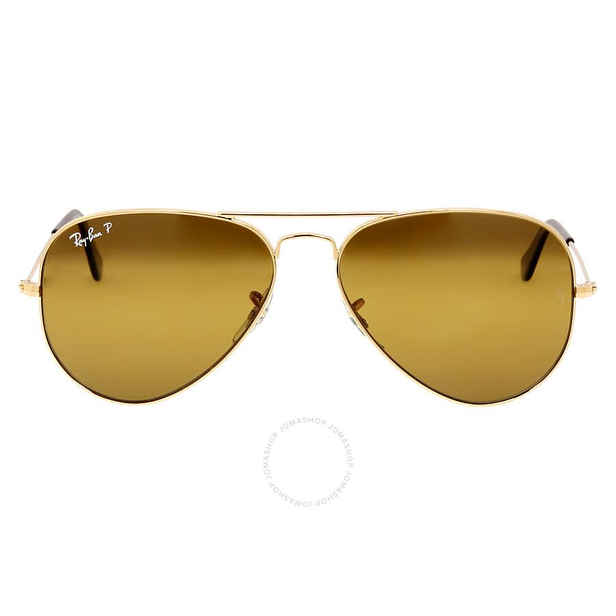 ray ban polarized aviator sunglasses