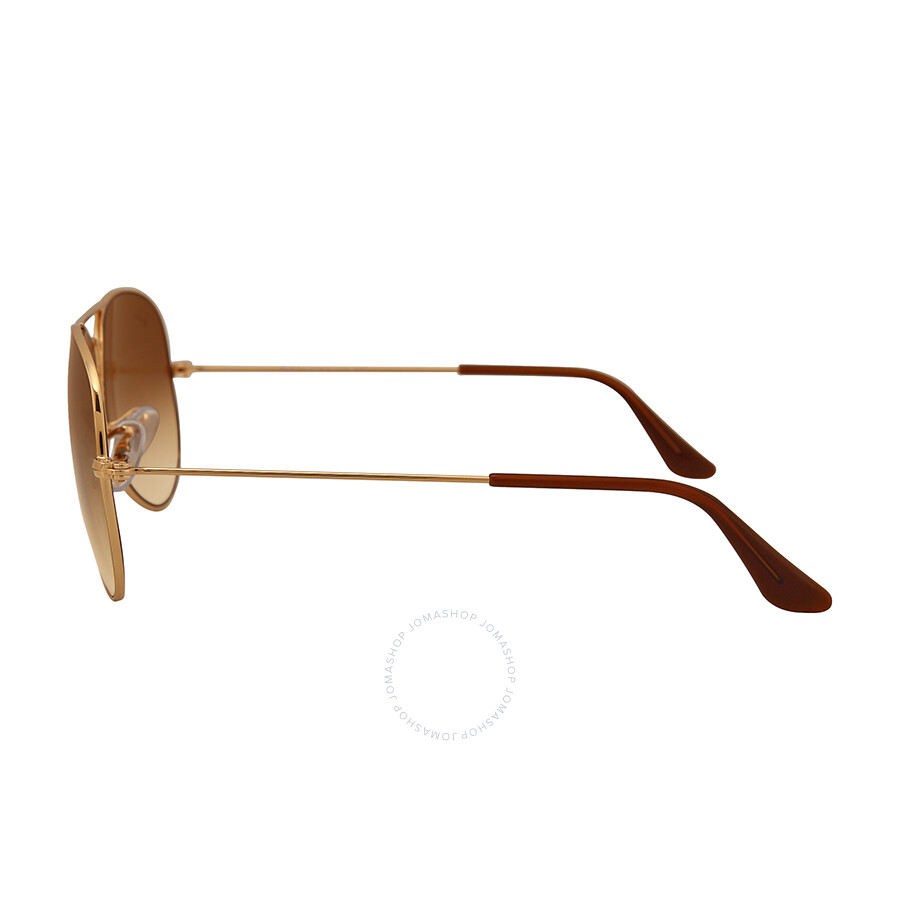 d88d0c5006e26 ... Ray Ban Aviator 58mm Light Brown Gradient Sunglasses RB3025 001 51 58-14  ...