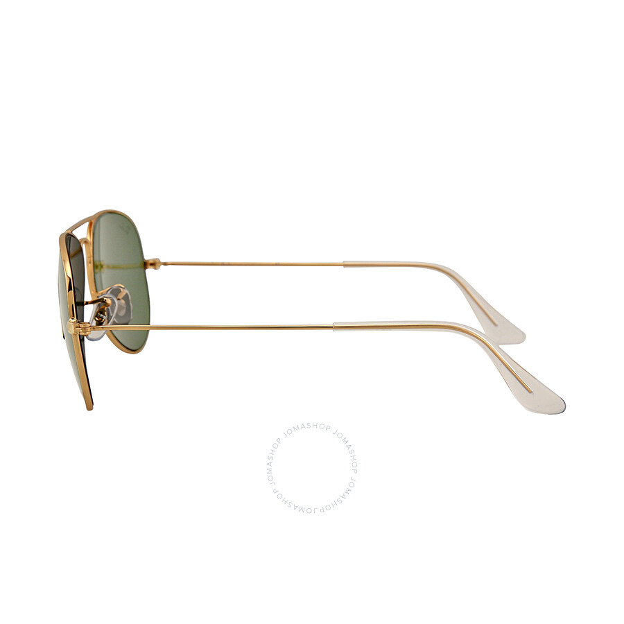 051ed1b28b ... Ray Ban Aviator Arista Green 55 mm Sunglasses RB3025 W3234 55-14 ...