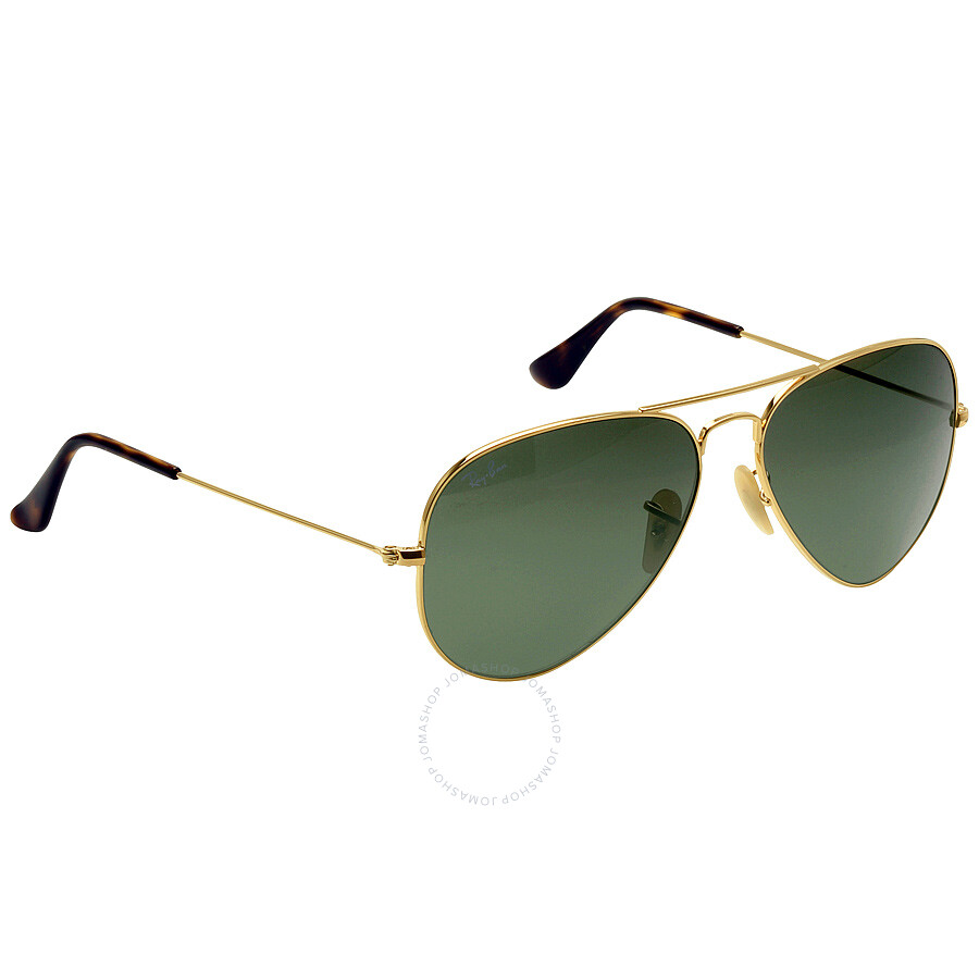 ray ban aviator classic green classic g 15 58 mm sunglasses aviator ray ban sunglasses. Black Bedroom Furniture Sets. Home Design Ideas