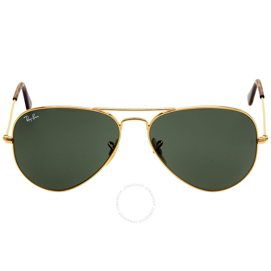 dac584b52b7 Ray-Ban Aviator Classic Green Classic G-15 58 mm Sunglasses ...