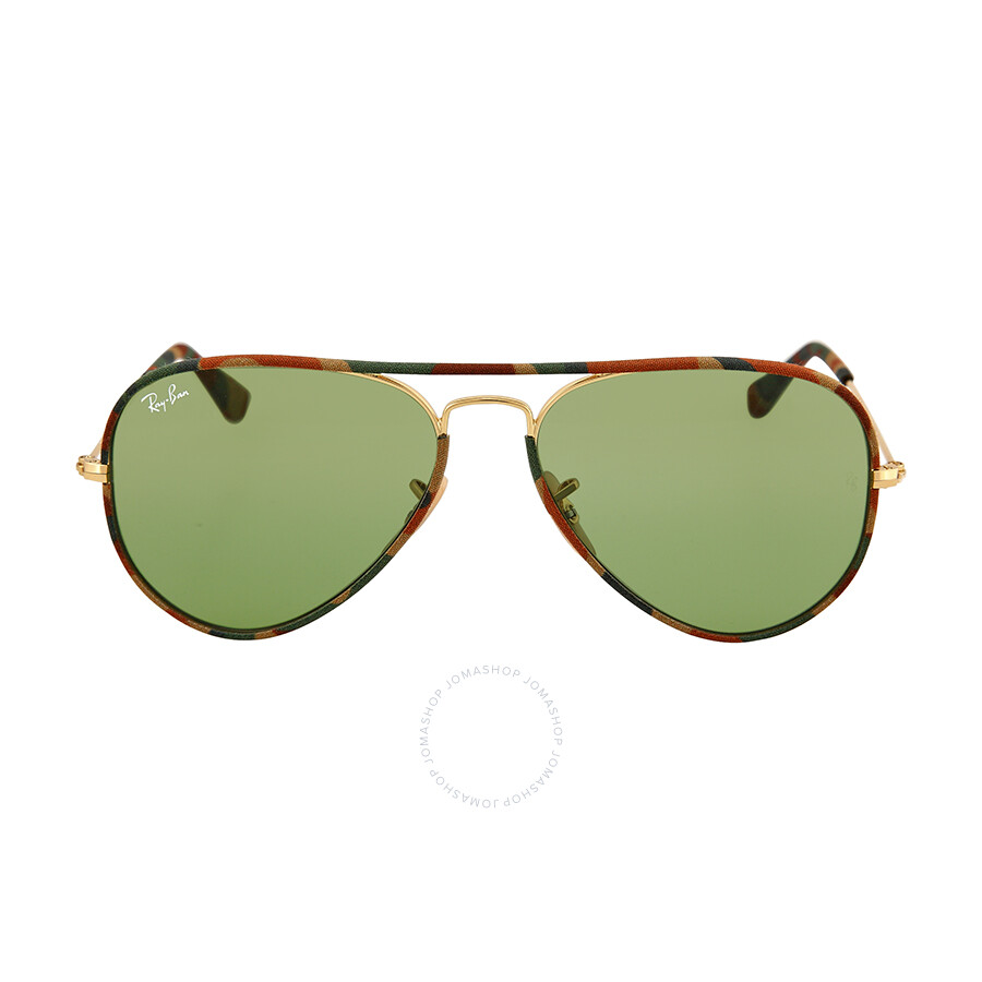 ray ban aviator blue glass  ray ban aviator classic green sunglasses rb3025jm 55 168 4e