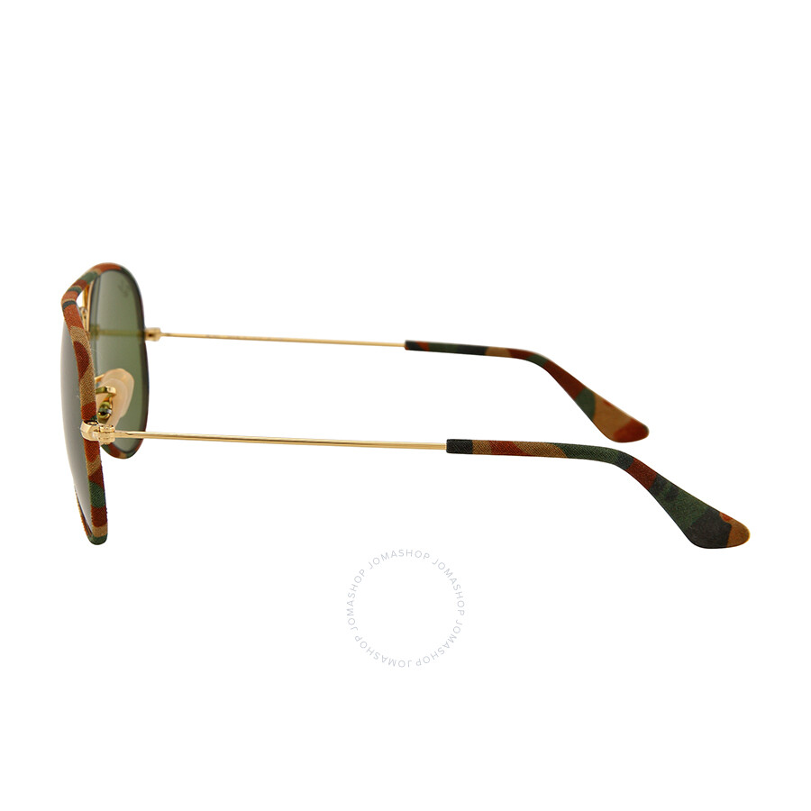 26b51d03bc ... Ray Ban Aviator Classic Green Sunglasses RB3025JM-55-168-4E ...