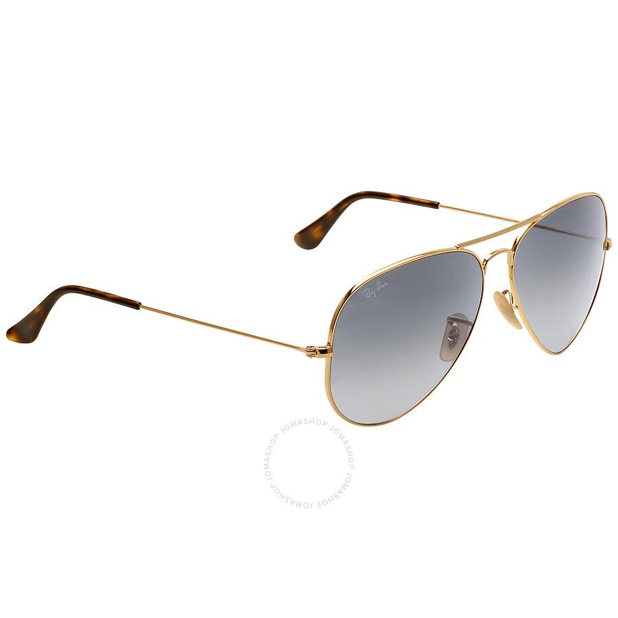 10d7181970290 ... Ray-Ban Aviator Classic Grey Gradient 62 mm Sunglasses RB3025 181 71 62