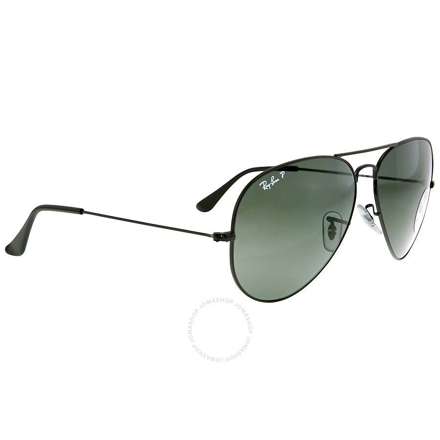 cd3372965c ... Ray Ban Aviator Classic Polarized Green Classic G-15 Sunglasses RB3025  002 58 62 ...