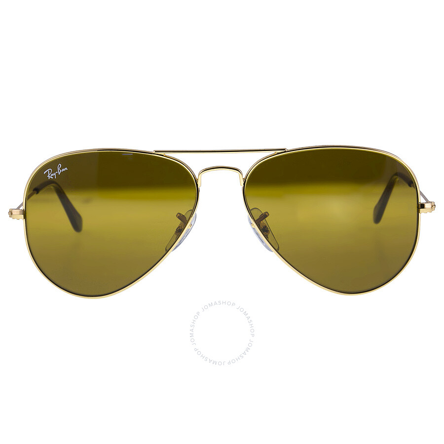 afaa437d7339 Ray Ban Aviator Brown Classic B-15 Men s Sunglasses RB3025 001 33 58- ...