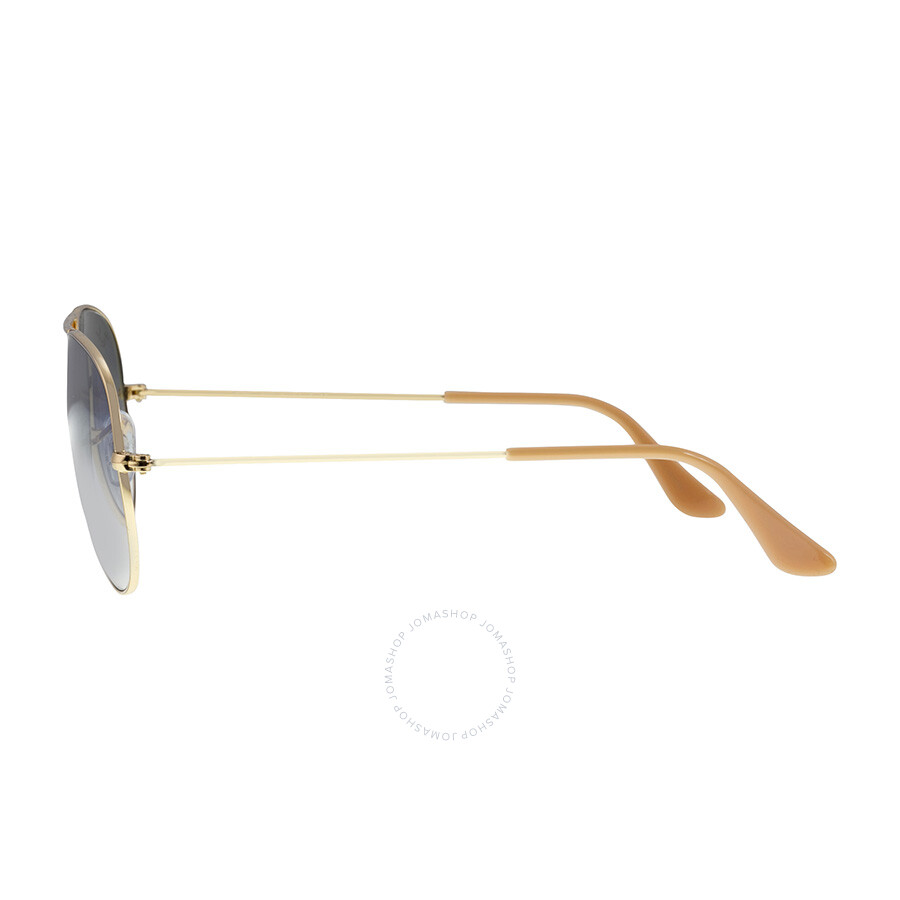 0e8f9e9939651 Ray-Ban Aviator Classic Sunglasses - Light Blue Gradient - Aviator ...
