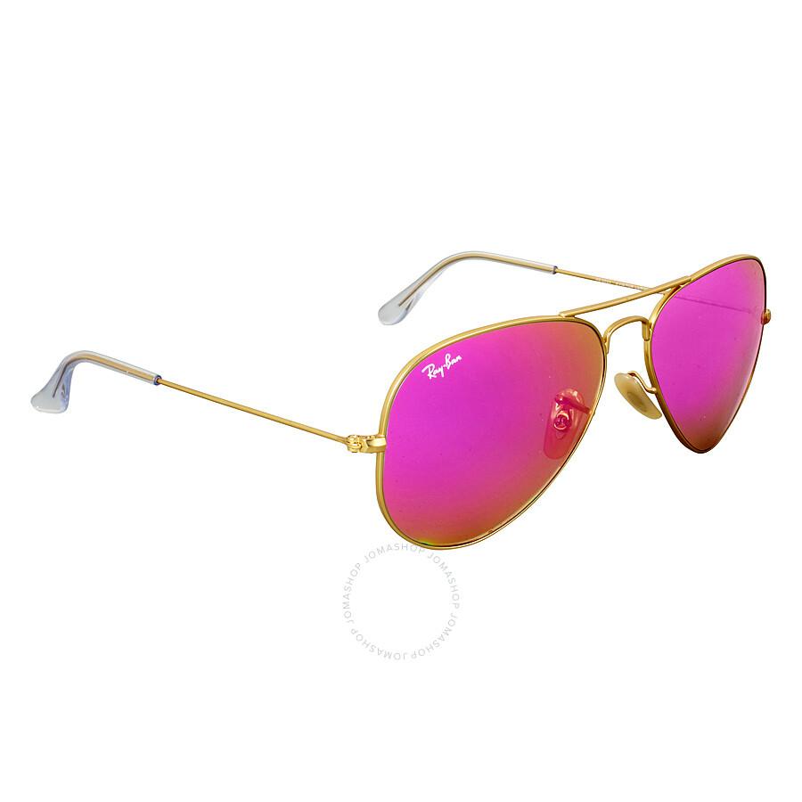 0253934cf9c Ray-Ban Aviator Cylamen Flash Sunglasses 30251124T58 - Aviator - Ray ...