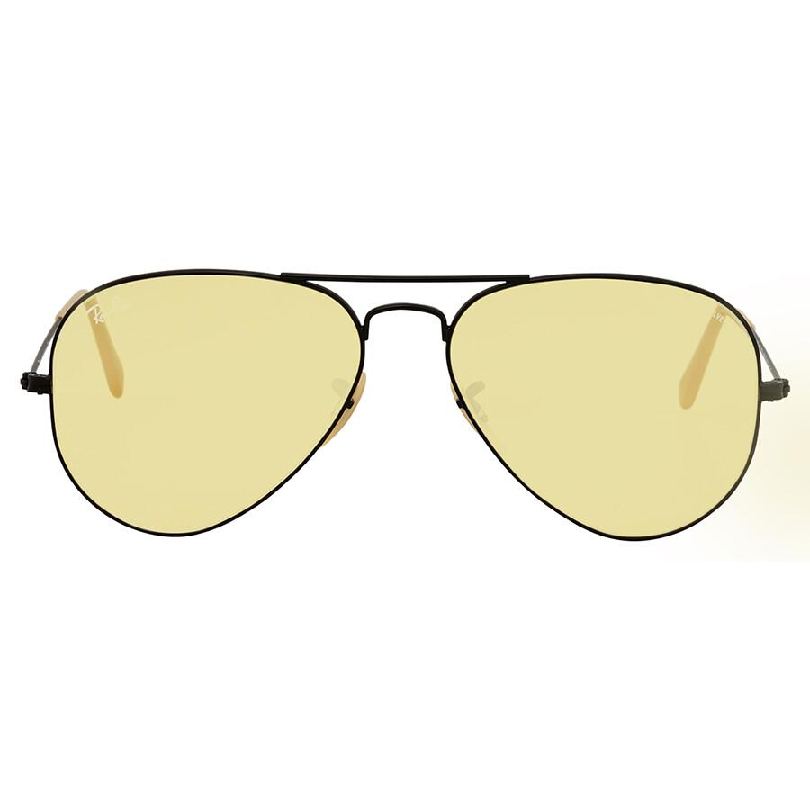 c28c25638abc2 ... Ray Ban Aviator Evolve Yellow Photocromic Aviator Sunglasses RB3025  90664A 55 ...
