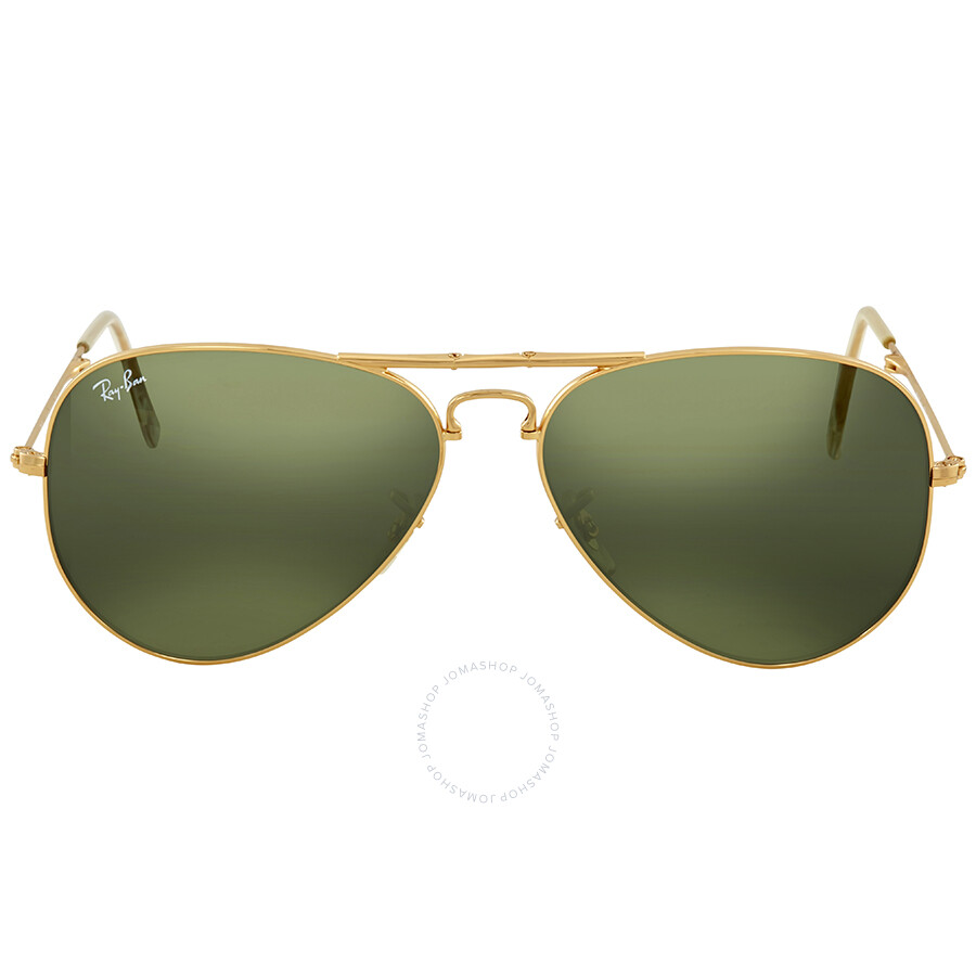 129cbcacbb5 Ray Ban Aviator Folding Green Classic G-15 Sunglasses RB3479 001 58 ...