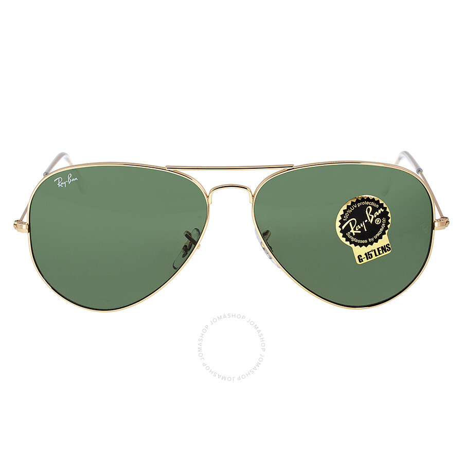 5cf151ccfd Ray Ban Aviator Gold Aviator Sunglasses Item No. RB3026 L2846 62-14