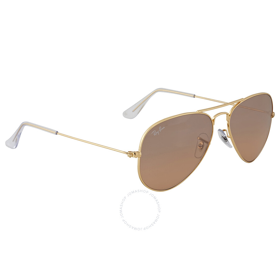 506640c2f ... Ray-Ban Aviator Gradient Silver-Pink Mirror 55 mm Ladies Sunglasses  RB3025-001