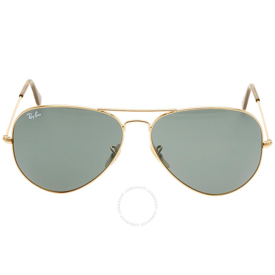 9ea671ac9c673 Ray-Ban Aviator Green Classic G-15 62 mm Sunglasses RB3025 181 62 ...