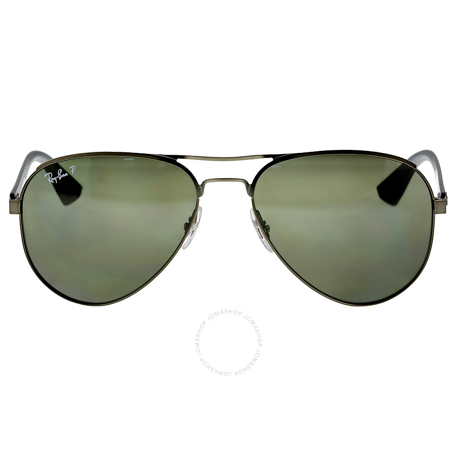 f3924990bf9 Ray-Ban Aviator Green Classic G-15 Polarized 59 mm Men s SunglassesRB3523- 029 ...
