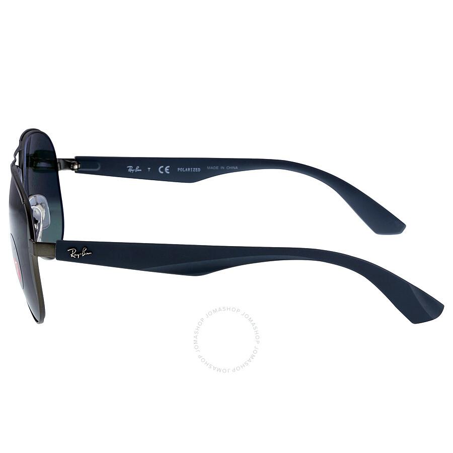 c960135069e ... Ray-Ban Aviator Green Classic G-15 Polarized 59 mm Men s  SunglassesRB3523-029