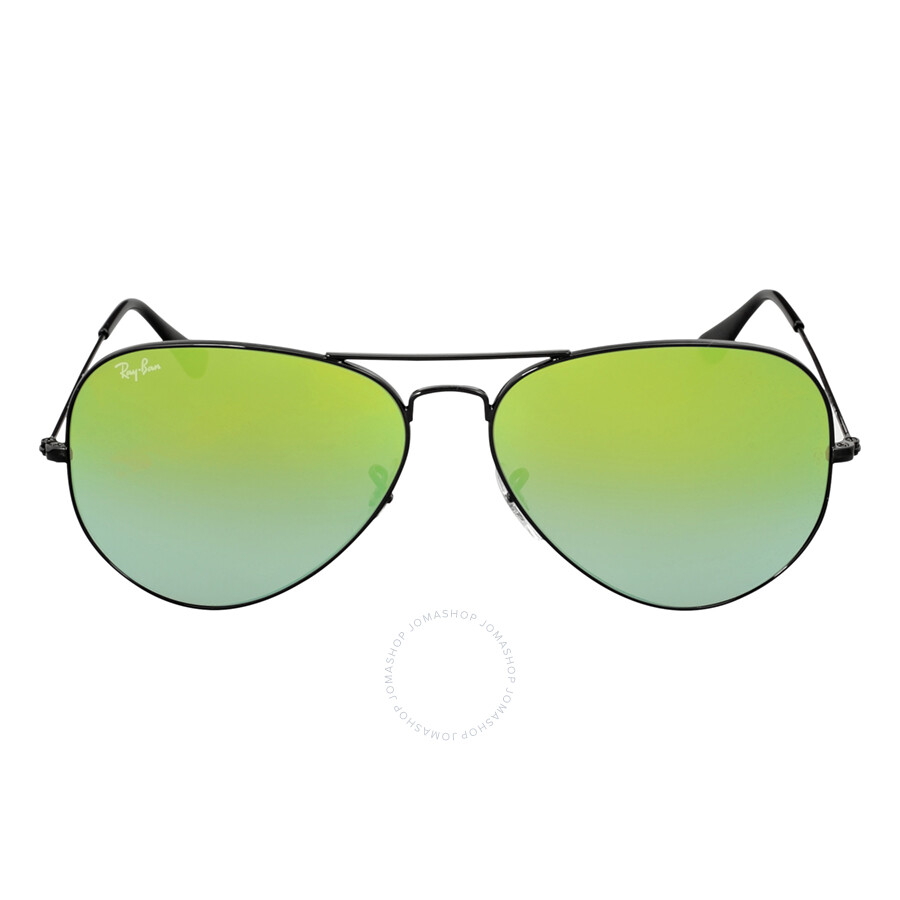 c8ad61578c Ray Ban Aviator Green Gradient Mirror Sunglasses RB3025 002 4J 62 ...