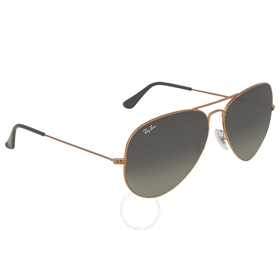 873580cb53c Ray Ban Aviator Grey Gradient Sunglasses Ray Ban Aviator Grey Gradient  Sunglasses ...