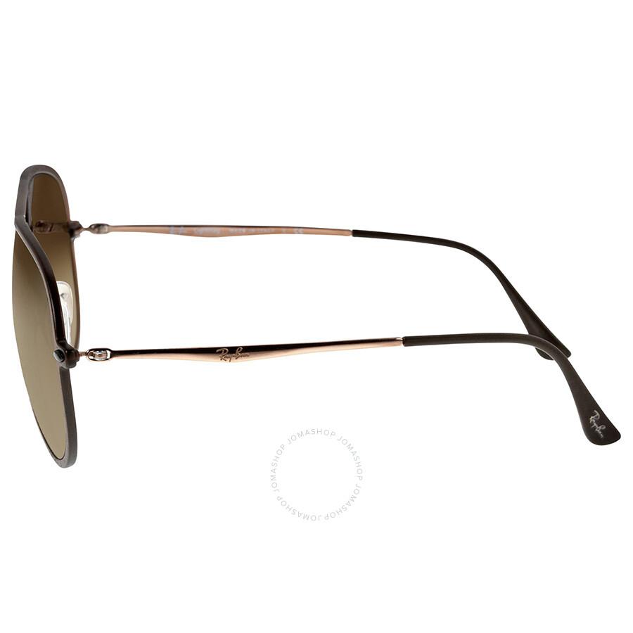 cc8e55e62af ... top quality ray ban aviator light ray ii brown gradient lens sunglasses  12769 ebadb