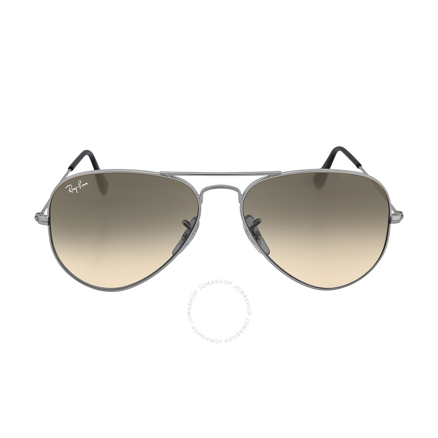 0e21db14ac0a5 Ray-Ban Aviator Metal Silver Grey 55mm Large Sunglasses RB3025 003 32 55-  ...