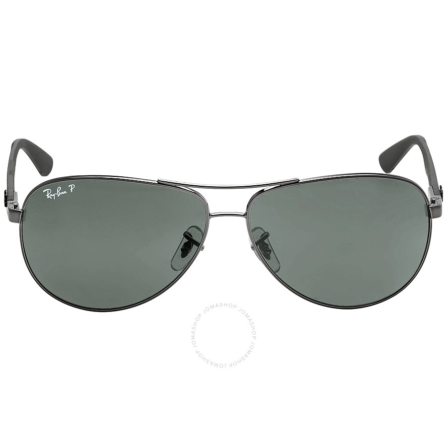 98f5385325e54 Ray Ban Aviator Polarized Green Classic G-15 Sunglasses RB8313 004 N5 61-  ...