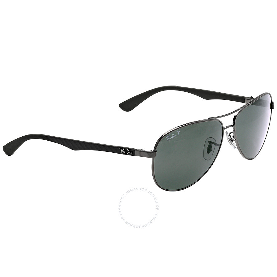 3aa90ccd0607d ... Ray Ban Aviator Polarized Green Classic G-15 Sunglasses RB8313 004 N5 61 -