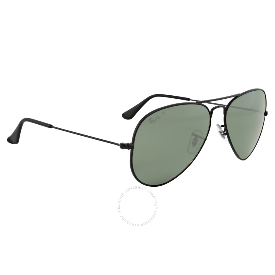 f4f7e693f7f ... Ray Ban Aviator Polarized Green Classic G-15 Sunglasses RB3025 W3361 58