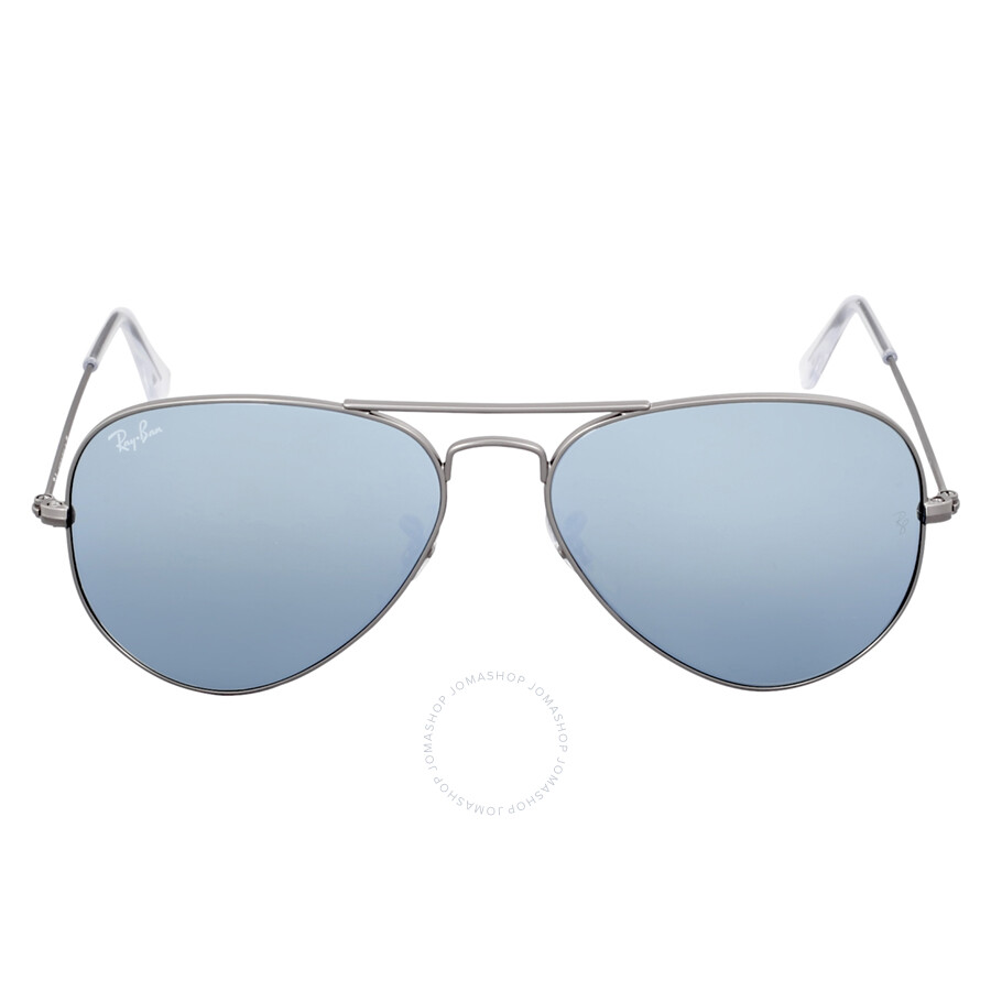 5d161d1439a1b Ray Ban Aviator Silver Flash Sunglasses RB3025 029 30 55 - Aviator ...