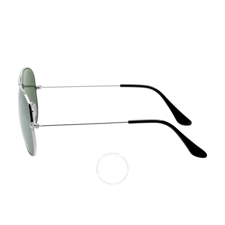 ray ban 3025 58 14  Ray Ban Aviator Silver Mirror Sunglasses RB3025 W3277 58-14 ...
