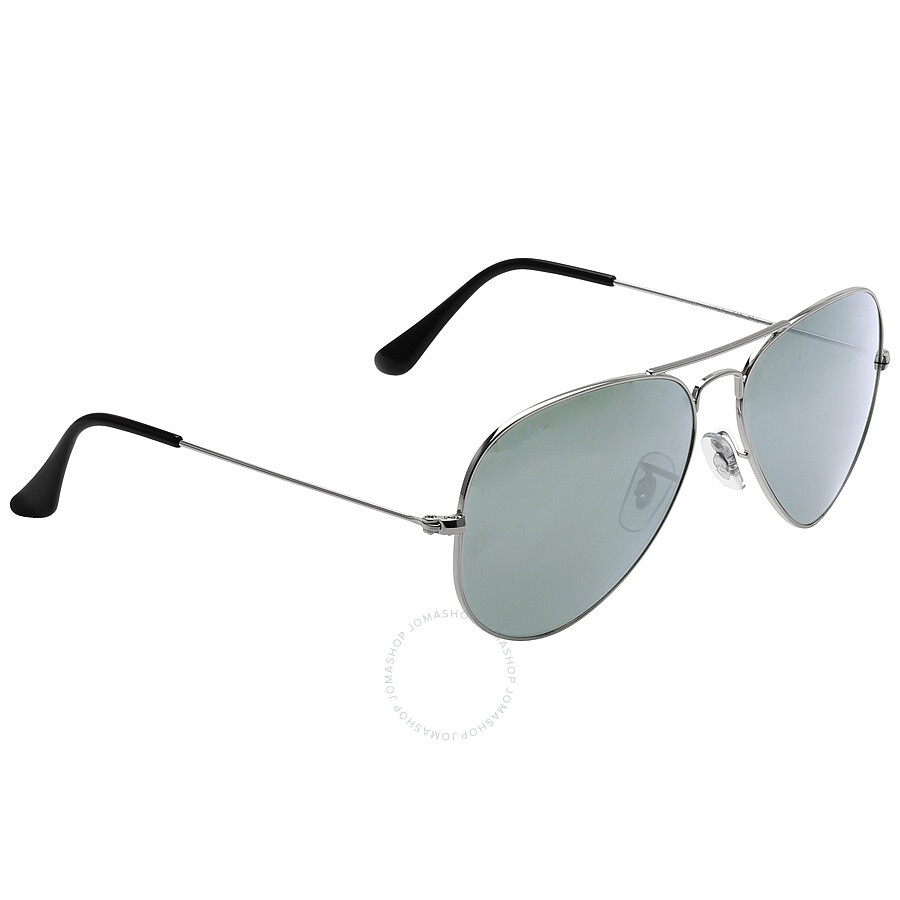 ray ban aviator silver  ray ban aviator silver mirror sunglasses rb3025 w3277 58 14