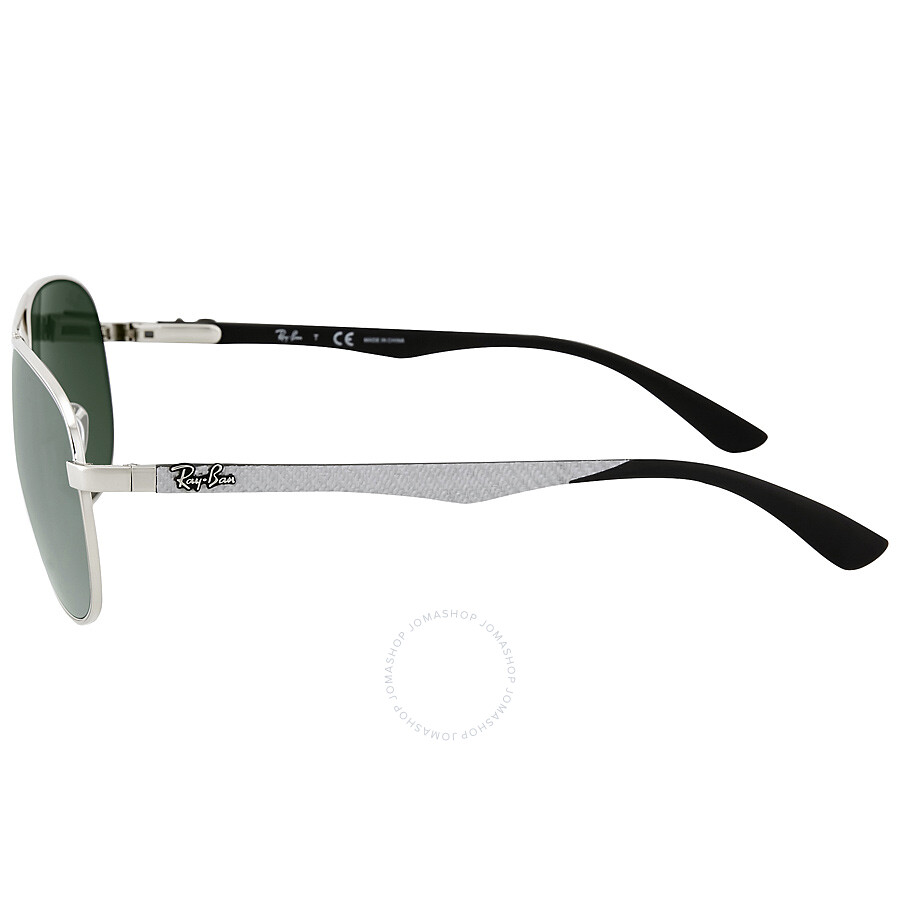 10ba8d3d87e Ray Ban Aviator Silver Mirror Sunglasses RB8313 003 40 61-13 ...