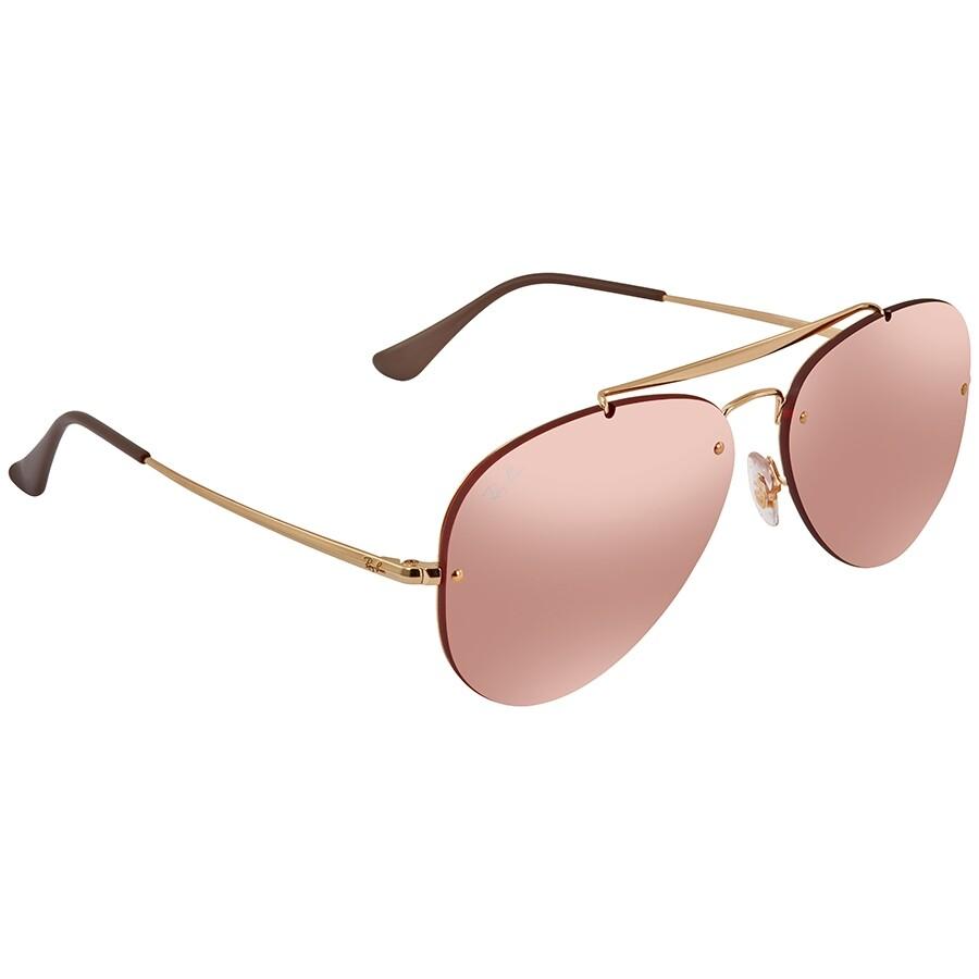 men's mirrored ray ban aviator sunglasses