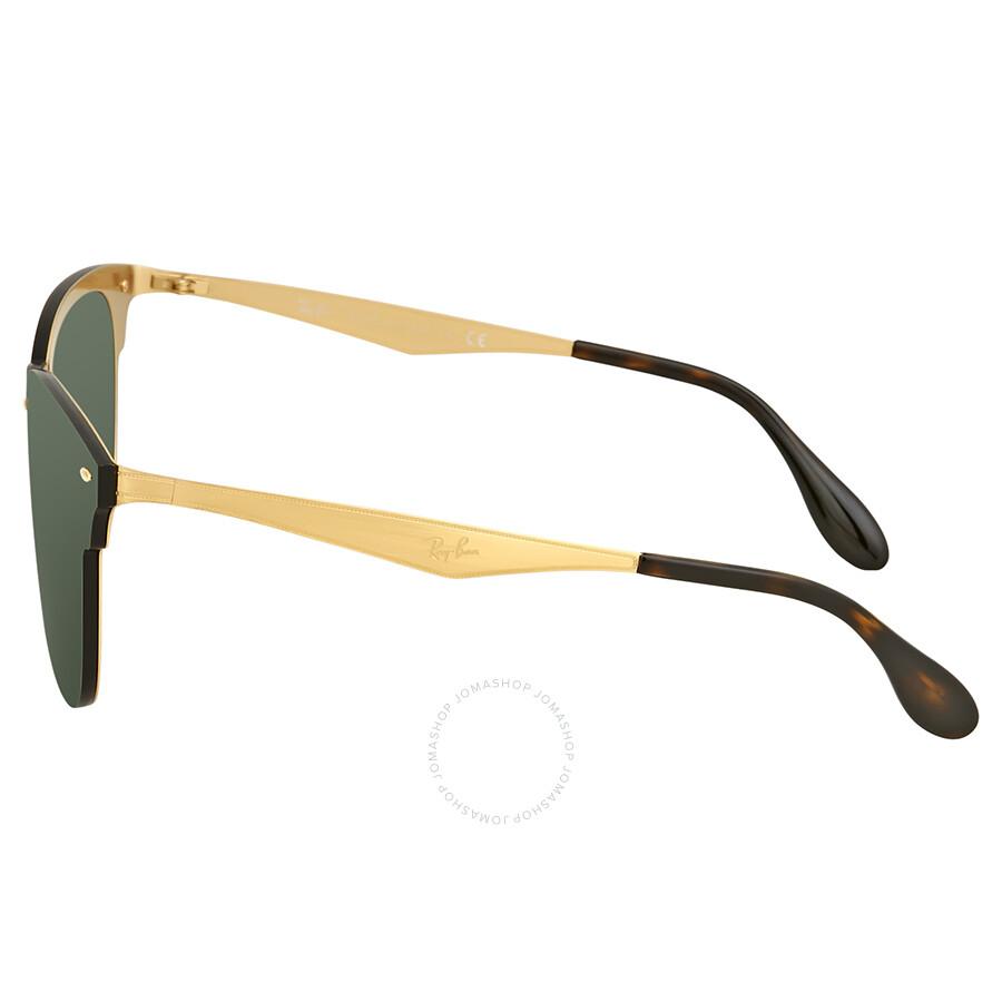 968f94aa3c3cf Ray Ban Blaze Clubmaster Green Classic Sunglasses RB3576N 043 71 47 ...